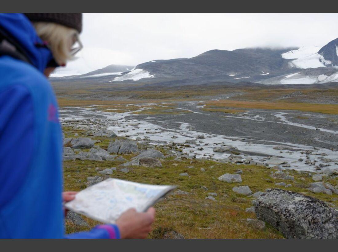 Wildnis-Trekking im Sarek 32