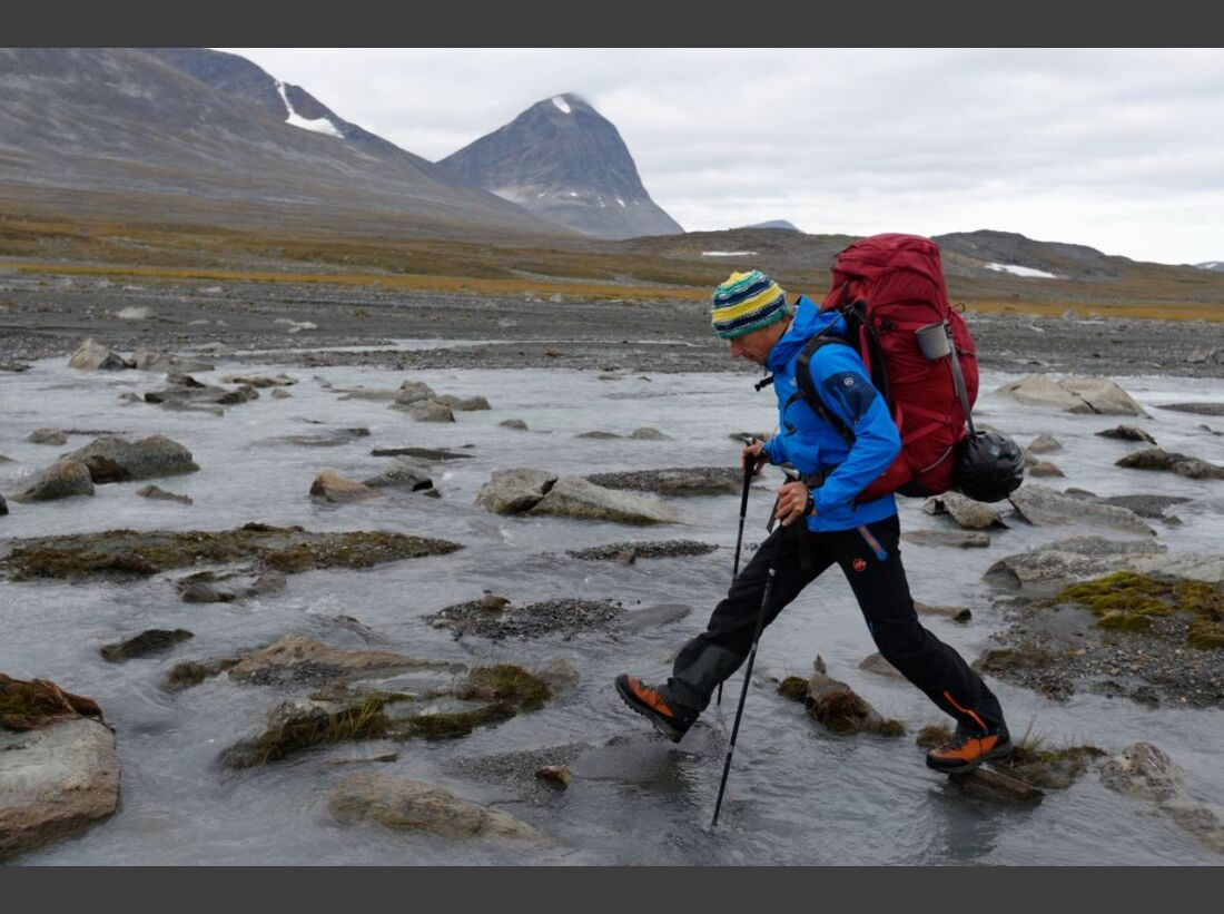 Wildnis-Trekking im Sarek 33