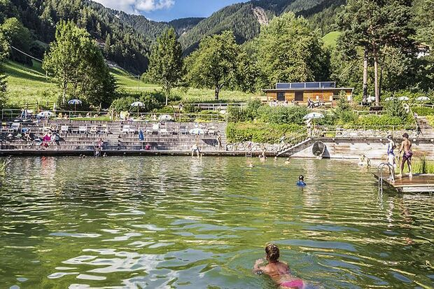 od 6 Mountain Days Brixen Südtirol 2019 - Wasser Licht Festival - Bad