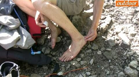 outdoor Praxis-Tipp: Blasenpflaster