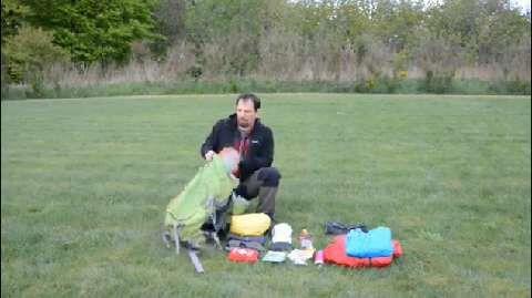 outdoor-Praxistipp: Rucksack packen